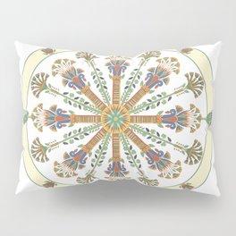 Egyptian Nouveau Mandala Pillow Sham
