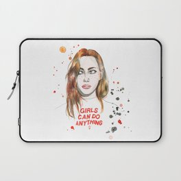 Girls can do anything! Laptop Sleeve