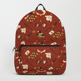 Wizarding Pattern Backpack