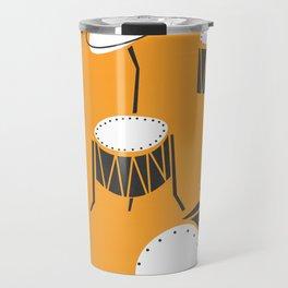 Drum Kit Drummer Travel Mug