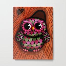 Owl Tree 2 Metal Print