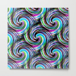 Swirl me.... Metal Print