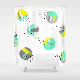 solheimajokull Shower Curtain