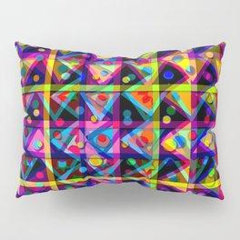 Whimsical Patchwork  Pillow Sham