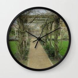 A Winding Way Wall Clock