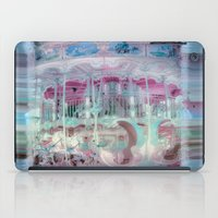carousel iPad Cases featuring Carousel by Heidi Fairwood