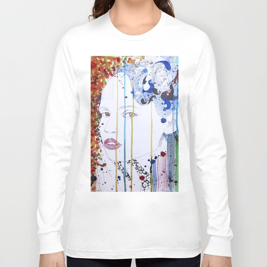 in the summer garden Long Sleeve T-shirt