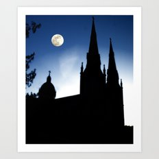Church Faith Art Print
