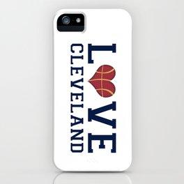 Love Cavs iPhone Case