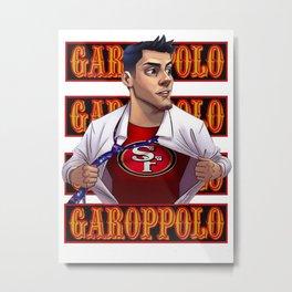 Jimmy Garoppolo Metal Print