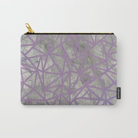 Ab Marb Magenta Carry-All Pouch