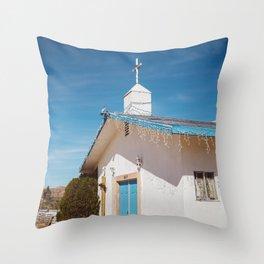 Desert Church II Throw Pillow