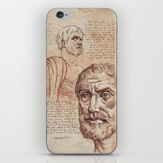 Aristotle iPhone Skin