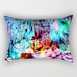 Cavern in Greece Rectangular Pillow