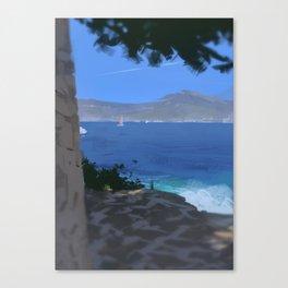Saint Jean Cap Ferrat Canvas Print