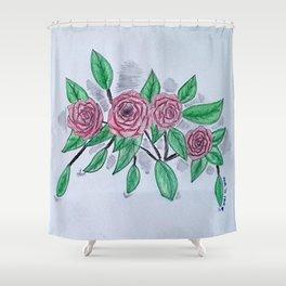 Roses VI Shower Curtain