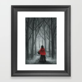 Red Hood Framed Art Print