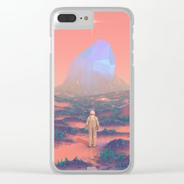 Lost Astronaut Series #02 - Giant Crystal Clear iPhone Case