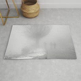 lost in the fog Rug
