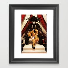 Blackjack Betty #4 Framed Art Print