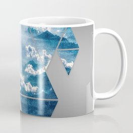 Fragmented Clouds Coffee Mug