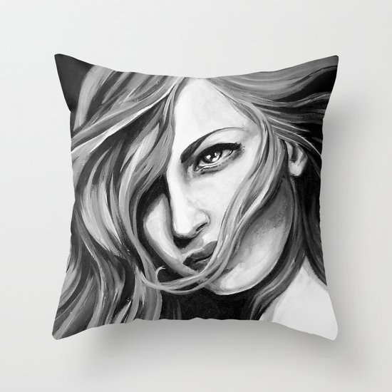 Vigilance Throw Pillow