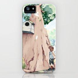 Birds' house iPhone Case