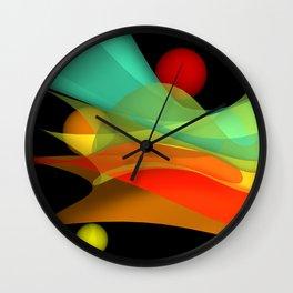 bicubic waves -4- Wall Clock