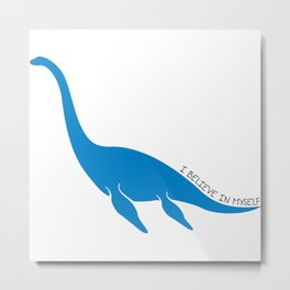 Nessie, I believe! Metal Print
