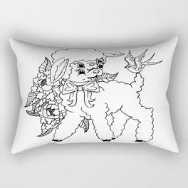 Wholesome Lamb Rectangular Pillow