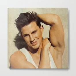 Channing tatum pose Metal Print