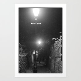 Midnight Expeditions 2 The Alley Art Print