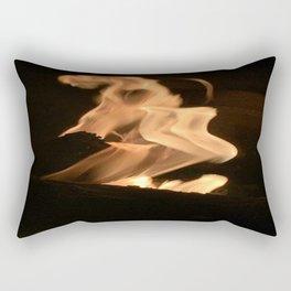 flames wrath Rectangular Pillow