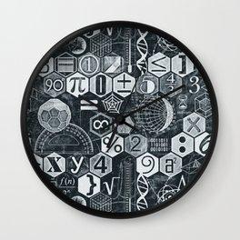 Math Class Wall Clock