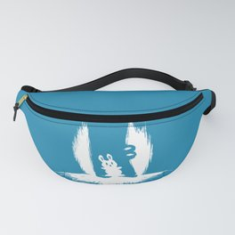 cornered! (bunny and crocodile) Fanny Pack