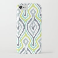 ikat iPhone & iPod Cases featuring Sketchy IKAT by Patty Sloniger