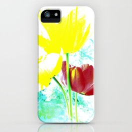 Abstract Of Spring iPhone Case