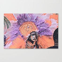 Big Chief Canvas Print