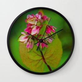 Fallflowers Wall Clock