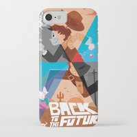 back to the future iPhone & iPod Cases featuring back to the future by Susker