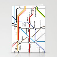 fandom Stationery Cards featuring Fandom Underground by Rchel_h_Smith