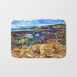 """Ogunquit Beach"" Bath Mat"