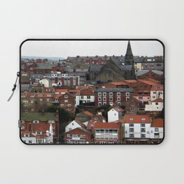 Whitby Patchwork Houses Laptop Sleeve
