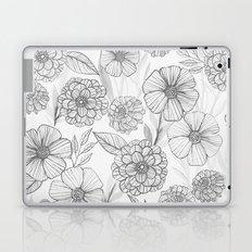 Garden in grey Laptop & iPad Skin
