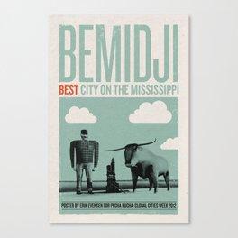 Bemidji: Best City on the Mississippi Canvas Print