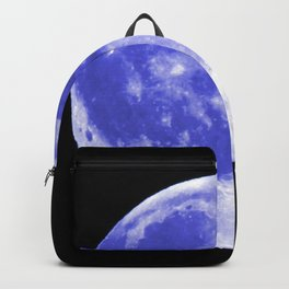 Blue Moon looks like Earth Backpack