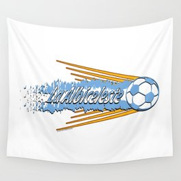 Argentina La Albiceleste(The White and Sky-Blue) ~Group D~ Wall Tapestry