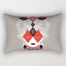 The Queen of diamonds Rectangular Pillow