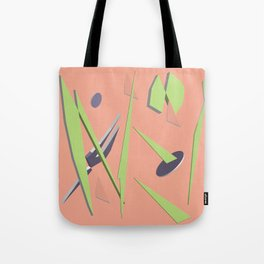80s Shapes, Colors and Space Tote Bag