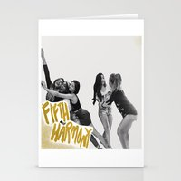fifth harmony Stationery Cards featuring Fifth Harmony by TSMM